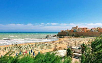 Le spiagge di Termoli e di Campomarino